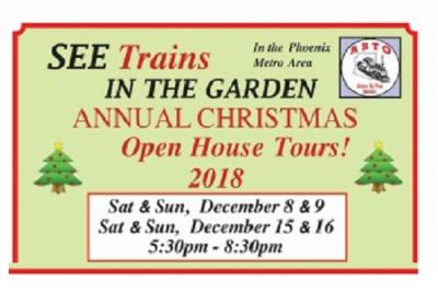 Trains in the Garden