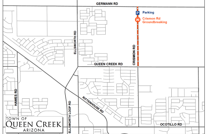 Town of Queen Creek Extending Crismon Road