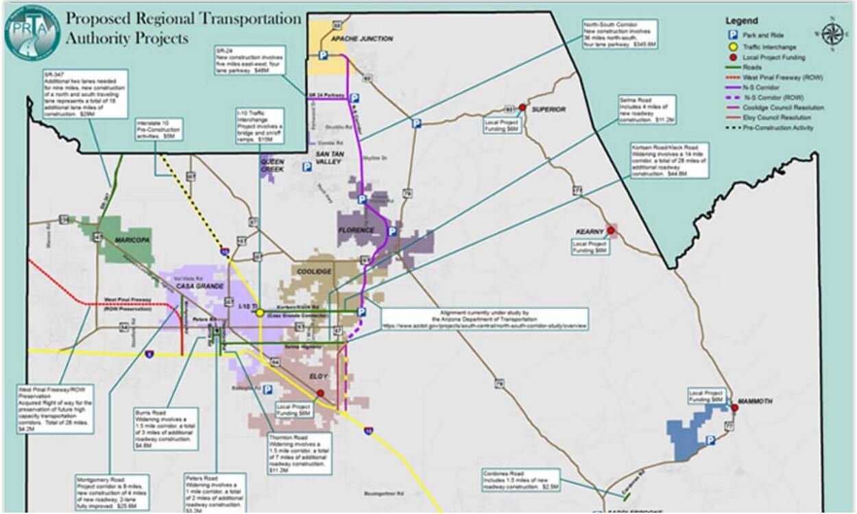Next Steps After Voters Approve Pinal Regional Transportation Plan & Half Cent Sales Tax